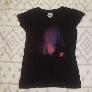 Element Graphic Auroraborialis T shirt
